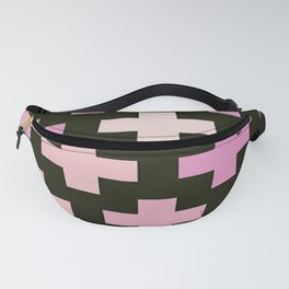 Crosses Pink Pastel Goth Fanny Pack