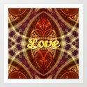 Tribal Geometry Love (earthy) by webgrrl