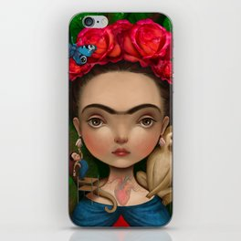 Dieguito and I iPhone Skin