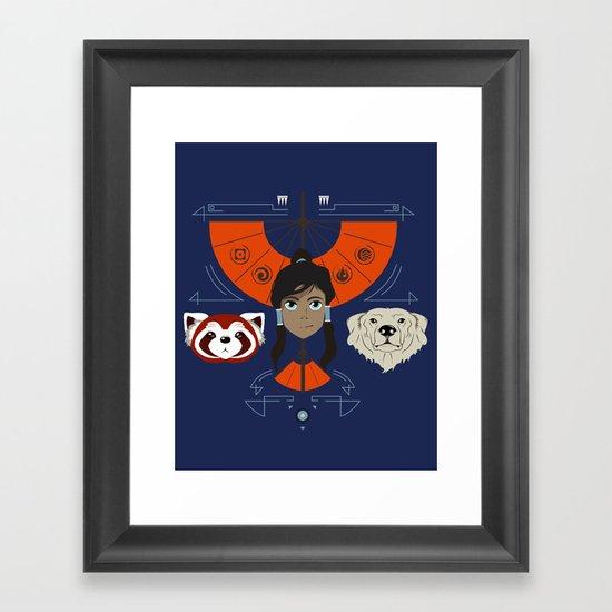 Spirited Avatar Framed Art Print