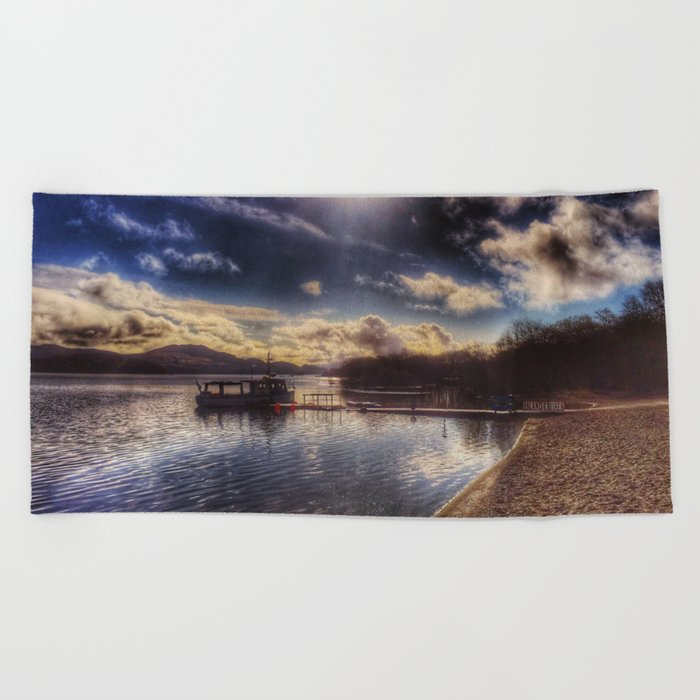 Loch Lomond Beach Towel