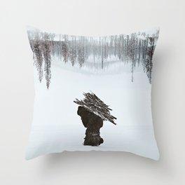 Burden Throw Pillow