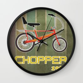 Chopper Bicycle Wall Clock