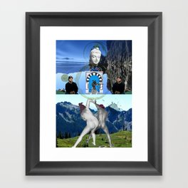 Azazel Known So Well Framed Art Print