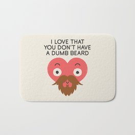 Groomed For Love Bath Mat