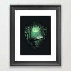 Master Sword Framed Art Print