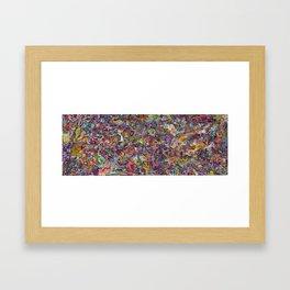 The Scroll: 66 Days Later Framed Art Print