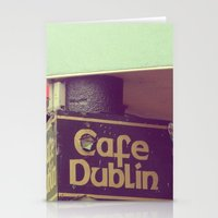 irish Stationery Cards featuring Irish Pub by Eirin Wie Haveland