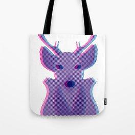 Deer Head Tote Bag