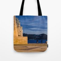 portugal Tote Bags featuring Portugal by Sébastien BOUVIER