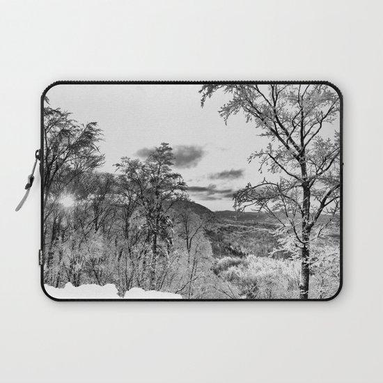 Vermont Winter Landscape Laptop Sleeve