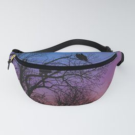 Night Wisdom -Colorful Fanny Pack