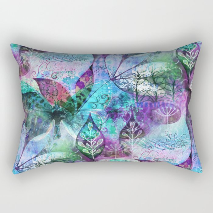 Nocturnal Whimsy Rectangular Pillow