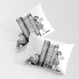 The Joy of Reading Pillow Sham
