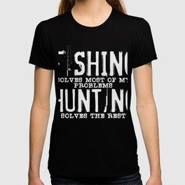 Fishing Hunting Tea Poison T-shirt