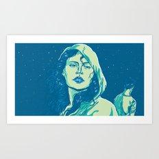 When The Night Comes Art Print