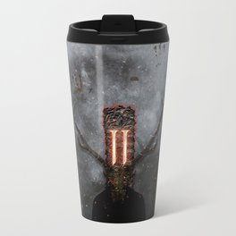 I am Sin Metal Travel Mug