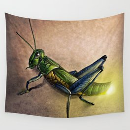 The Firefly and the Grasshopper Wall Tapestry