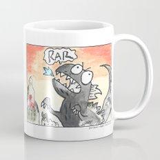 Big Monster (Watercolor and Pen) Mug