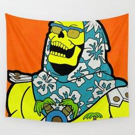 Sunset Over Castle Grayskull - MOTU pop art Wall Tapestry
