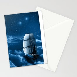 Second Star to the Right Stationery Cards