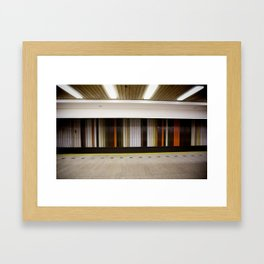 Prague Underground Framed Art Print