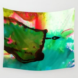 Abstract Bliss 4G by Kathy Morton Stanion Wall Tapestry