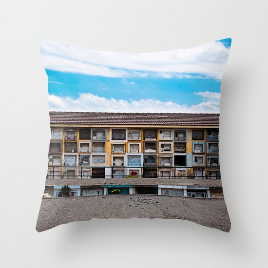 Rest in Peace#3 Throw Pillow