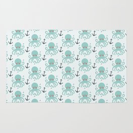 Squid Pattern Rug