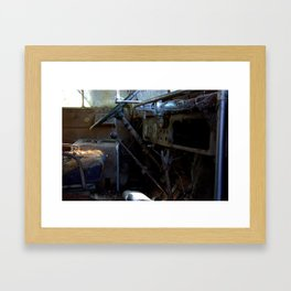 Bus Drivers Seat #12 Framed Art Print