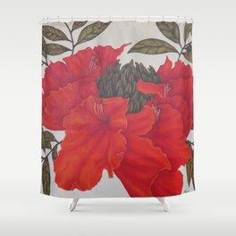 Spathodea Campanulata Shower Curtain