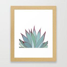 Elegant Agave Fringe Illustration Framed Art Print