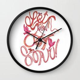 Let Your JOY Soar! Wall Clock