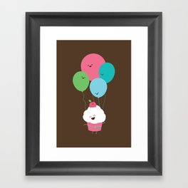 A Light Snack Framed Art Print