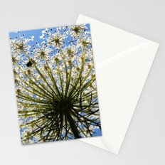 white green blue Stationery Cards