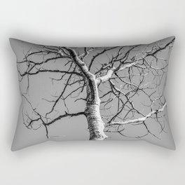 Bare Tree in the sky Rectangular Pillow