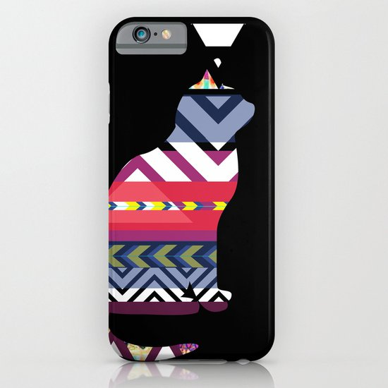 Tribal Feline iPhone & iPod Case