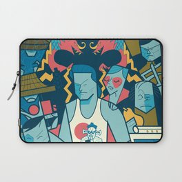 Big Trouble Laptop Sleeve