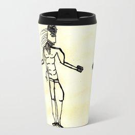 A visible and invincible man. Travel Mug