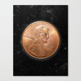 Coin Night Canvas Print