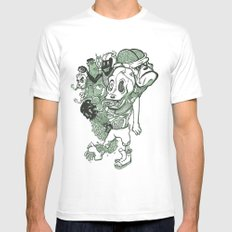 Necrophobia Mens Fitted Tee White MEDIUM