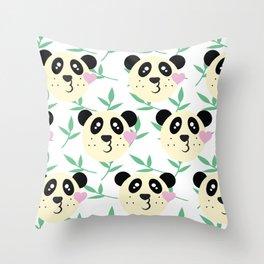 WWF Panda Donations Throw Pillow