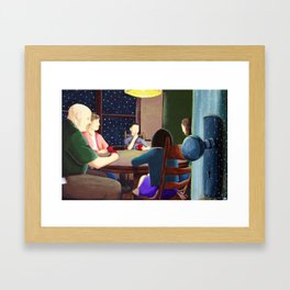 Holiday Warmth Framed Art Print