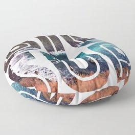 Big Sur For Sure Floor Pillow