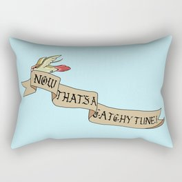 Now That's A Catchy Tune! Rectangular Pillow