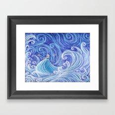 .:Let the Storm Rage On:. Framed Art Print