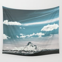 Mountain Morning - Nature Photography Wall Tapestry