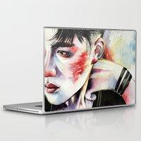 exo Laptop & iPad Skins featuring Kyungsoo by eteru