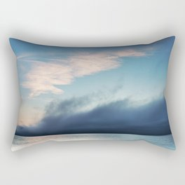 The Coming Fog Rectangular Pillow
