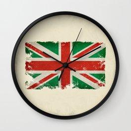 Italian Union Jack Wall Clock
